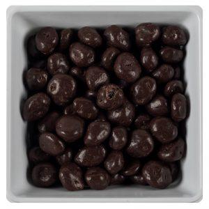 Chocoladerozijnen puur