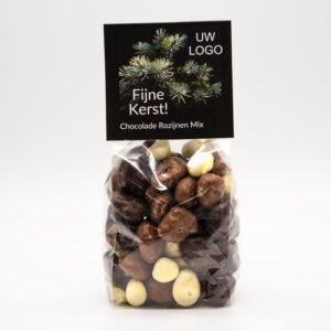 Chocoladerozijnen mix