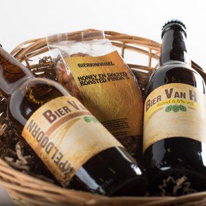 Bierpakket mandje rond
