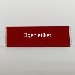 Chocoladereep (eigen etiket)