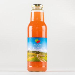 Appel-cranberrysap (75 cl.)